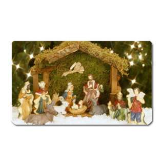 Christmas Nativity Scene Large Fridge Magnet