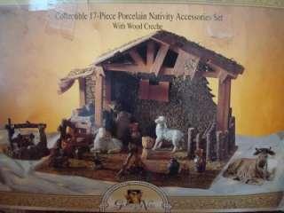 Grandeur Noel Nativity Porcelain Figurines Accessories ~ Each Sold