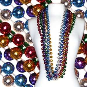48 in 16mm Assorted Colored Mardi Gras Bead Case