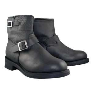 Mens Advanced Short Engineer Motorcycle Boot   Size  13