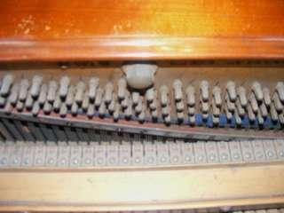 Antique J & J Hopkinson London Upright Grand Piano 52071 Burl Walnut