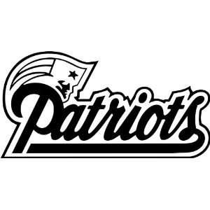 England Patriots NFL Vinyl Decal Stickers / 14 X 7