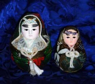 Vintage Japanese Wedding Doll or may be called a Wolly Polly HAKATA