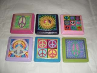 PEACE SIGN Wall Plaques Decor Bedding Customize Color