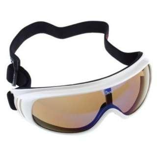Basto Anti Fog Dual Lens Sport Ski Snowboard Goggles White Frame