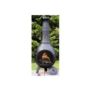Propane Chiminea   Blue Rooster ALCH029GK CH LPG   Sun