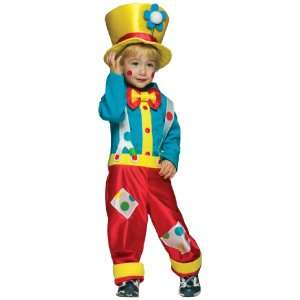 Lets Party By Rasta Imposta Clown Boy Toddler Costume