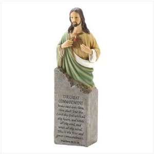 JESUS GREAT COMMANDMENT STATUE RELIGIOUS FIGURINE NEW: Everything Else