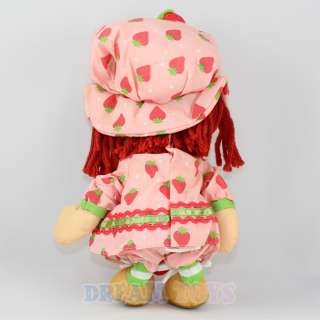 14.5 Strawberry Shortcake Pink Plush Doll   Figure L |