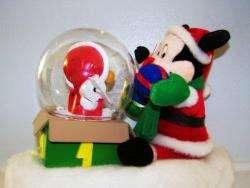 Disney Mickey Mouse Donald Duck Animated Musical Christmas Santa Snow