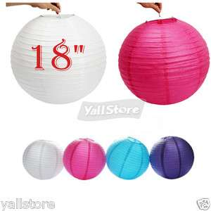 New 18 Chinese Japanese Paper Lanterns Wedding Party Decorations