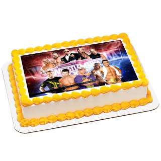 Edible Cake Images Wwe : Wwe Wrestling Edible Cake Ideas and Designs